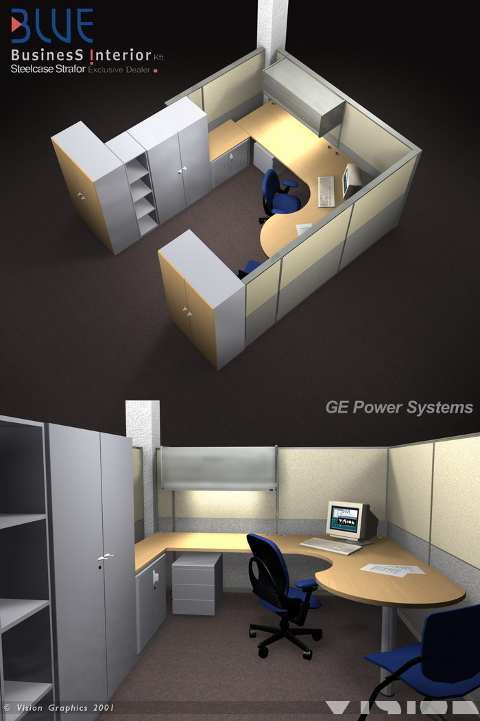 Blue: GE Powers Systems