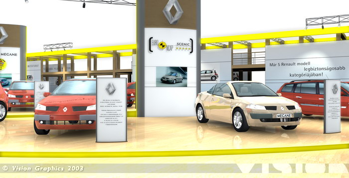 Renault - Automobil 2003 stand
